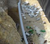Campomarino, una discarica nell'area archeologica