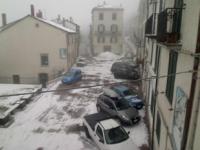 Neve e temperature in picchiata, torna l'inverno