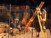 Camion in fiamme a Venafro, indagano i Carabinieri