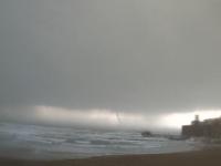 Emergenza maltempo, sulla costa nuovo avviso di burrasca