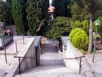 Incendio nel cimitero di Agnone