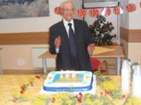 Una giornata speciale per il centenario zio Americo