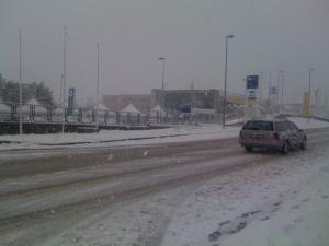 Il Molise nella morsa della neve