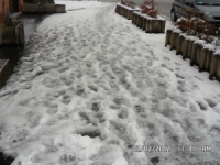 Maltempo, Isernia ghiacciata ma non nevica