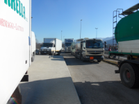 Rivolta tir, camionista aggredito da manifestanti