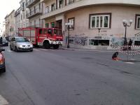 Fuga di gas, intervengono i Vigili del Fuoco