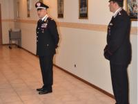 Il colonnello Barbano in visita a Isernia