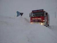 A Pescopennataro muri di neve alti sette metri