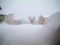 Isernia, neve anche a bassa quota