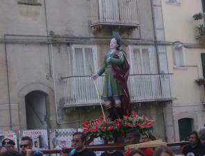 Jelsi, Sant'Amanzio tra la fede locale e i trombini veneti