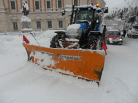 Emergenza neve, isolate 4 famiglie