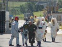 Allarme contaminazione chimica a Termoli, ma è solo un'esercitazione