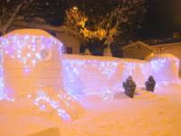 Il castello di Torella del Sannio… di neve