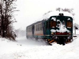 Emergenza maltempo, ancora bloccata la linea ferroviaria per Termoli