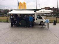 McDonald's, la pioggia non ferma le selezioni