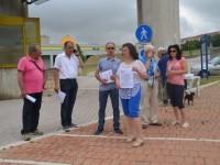 Presidio di protesta del comitato Pro Vietri davanti all'ospedale frentano