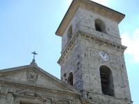 Trivento: un fulmine colpisce il campanile della cattedrale, ingenti i danni
