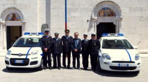 Nuovo parco auto per la Polizia locale di Venafro