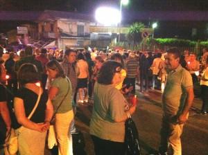 Ss Rosario, blocco stradale sulla Ss 85