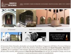 Il convento di San Nicandro è sul web