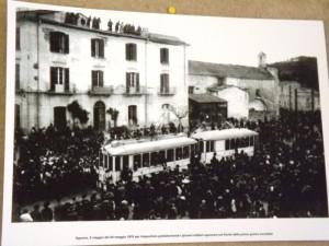inaugurazione partenza ferrovia