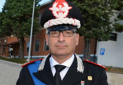 Al Comando Legione Carabinieri Molise arriva il colonnello Vito Paparella