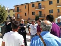 Il nuovo segretario generale dell'Ugl Mancini in visita a San Giuliano di Puglia
