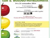 Domani a Campobasso in piazza con il biologo nutrizionista