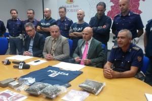 Operazione antidroga della Polizia, un arresto e due denunce