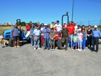 Armati di ramazze e palette, volontari puliscono Colle della Torre