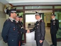 Paparella visita il Comando Provinciale Carabinieri di Isernia
