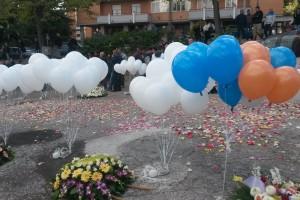 Oggi i funerali di Nicola Daniele, Layla e Maria Perfetto