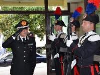 Il generale Mottola visita il comando provinciale Carabinieri di Isernia