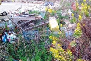 Discarica abusiva di inerti e materiali da costruzione sequestrata a Petacciato