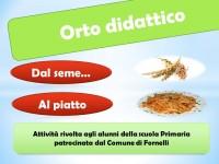 A Fornelli 'dal seme al piatto'