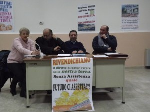 Caracciolo, una protesta ad accogliere Frattura