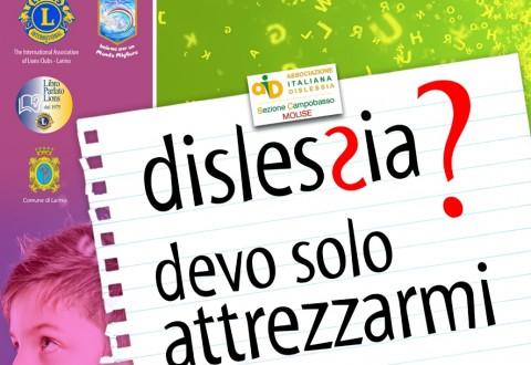 Dislessia, lunedì incontri a Larino e Guglionesi