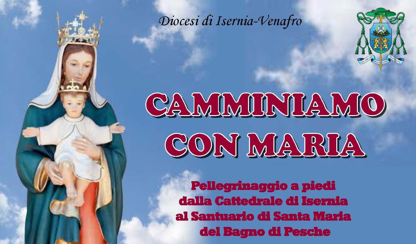 Santa Maria Del Bagno Pesche.Domani Sera Il Pellegrinaggio Isernia Pesche Primopiano Molise