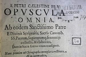 Domani sera a Isernia la presentazione degli Opuscola celestiniani