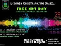 Free art day, sabato Rocchetta regno della creatività dei più piccoli