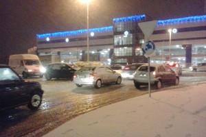 Nevica in Molise, circolazione in tilt a Campobasso e verso Isernia