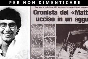A 30 anni dall'assassinio di Siani, se ne parla all'Unimol