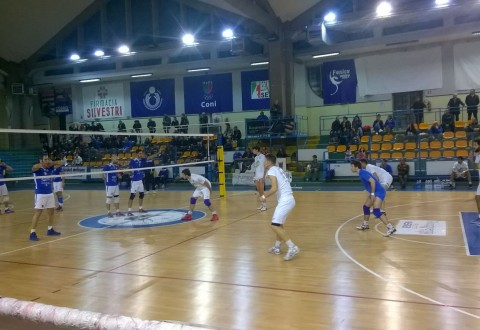 Volley B2 maschile, Svelto beffata