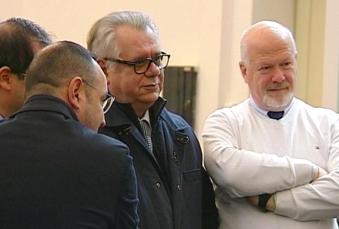 Terminato l'interrogatorio a Giarrusso