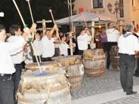 I bufù allo spettacolo 'Si canta maggio' dell'auditorium di Roma