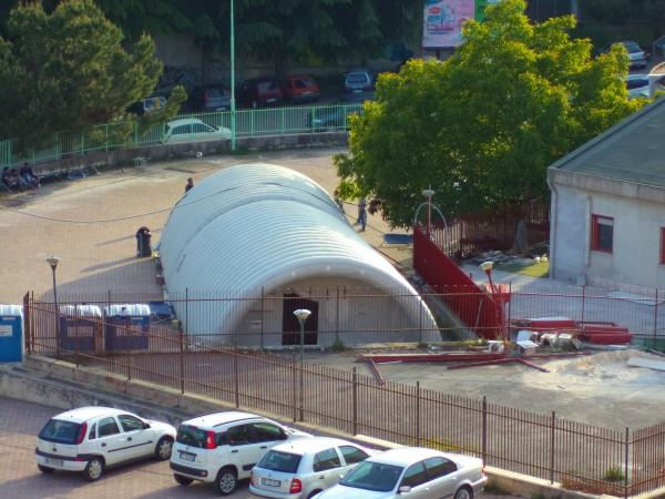 L 39 accoglienza dimenticata il degrado nel parcheggio della for Planimetrie della casa degli artigiani
