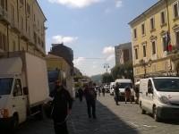 A Campobasso tutto pronto per la prima assoluta per lo 'Streetfood Village'