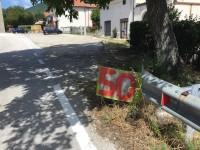 Statale 158, i residenti segnalano la pericolosità del tratto per il bivio di Rocchetta e Cerro