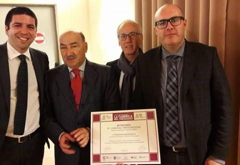 Il Museo del profumo di Sant'Elena Sannita premiato a Foligno