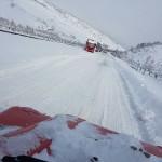Neve e maltempo, filtraggio dei mezzi pesanti a Macchia d'Isernia